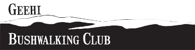 Geehi Bushwalking Club Logo